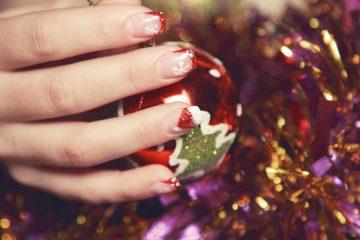 weihnachten nageltrends