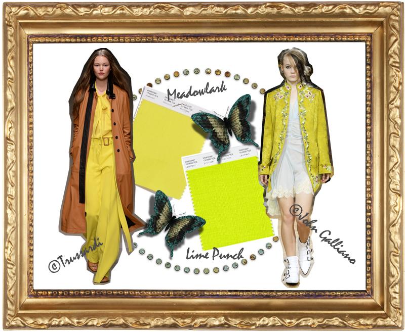 Pantone Trendfarben Gelb
