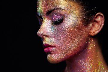 beauty trend glitzer