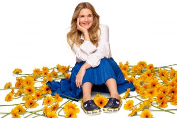 crocs drew barrymore