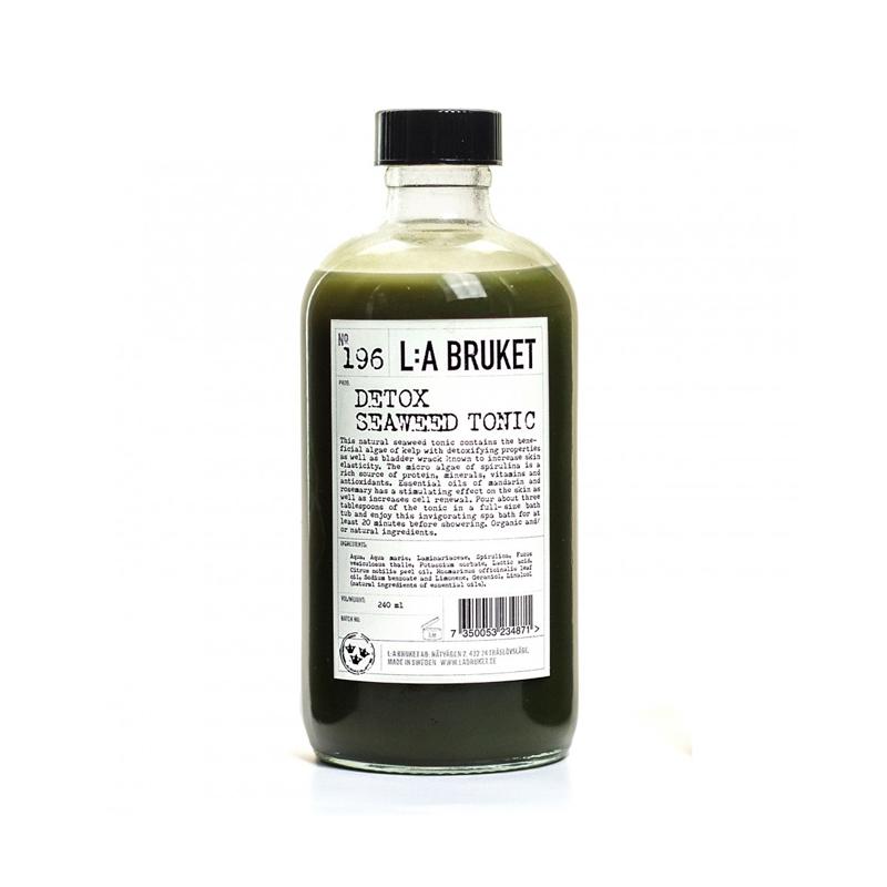 la bruket detox seaweed tonic badezusatz