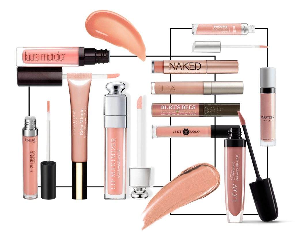 lipgloss nude produkte