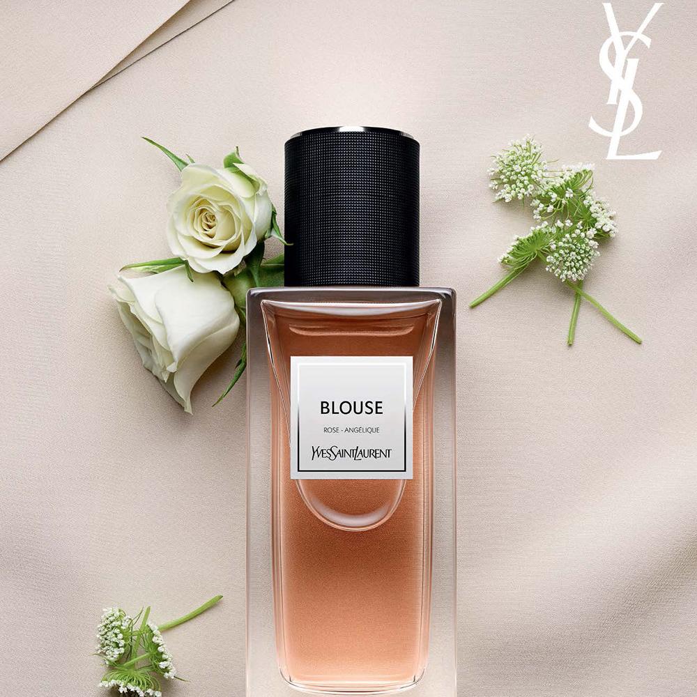 ysl parfum blouse
