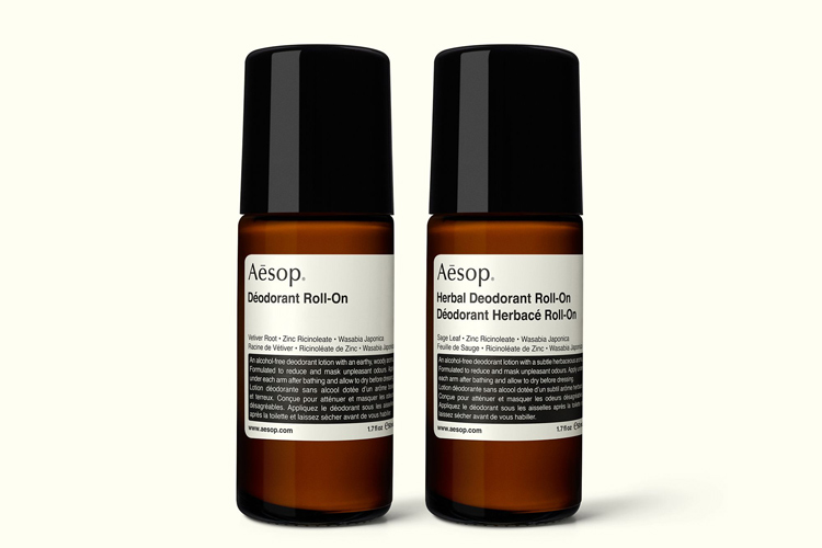 aesop deodorant produkt