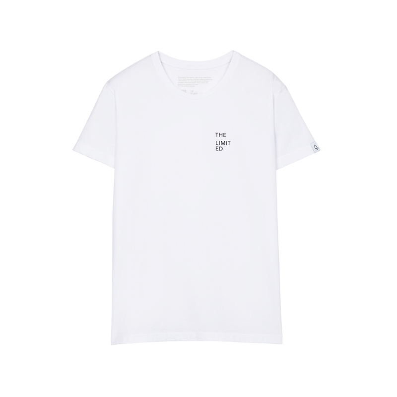 closed t-shirt white