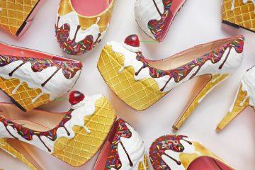 Kuchenschuhe von der Shoe Bakery