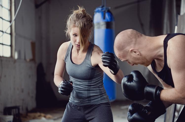 training selbstverteidigung