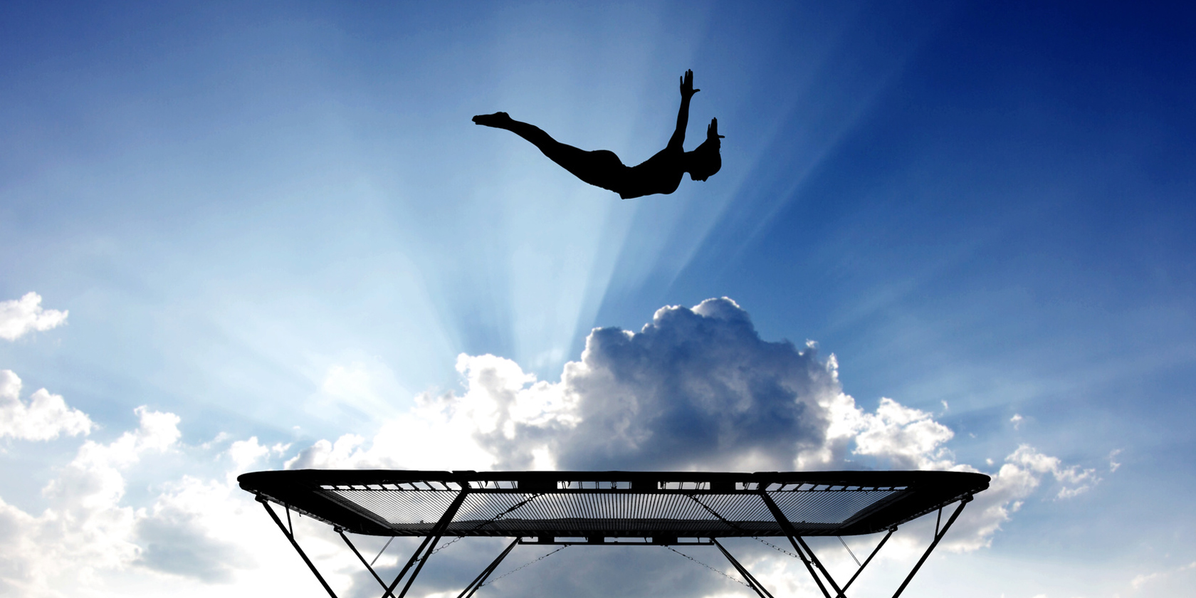 trampolin workout sport