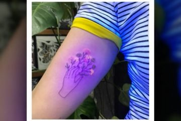 Trend UV-Licht Tattoos
