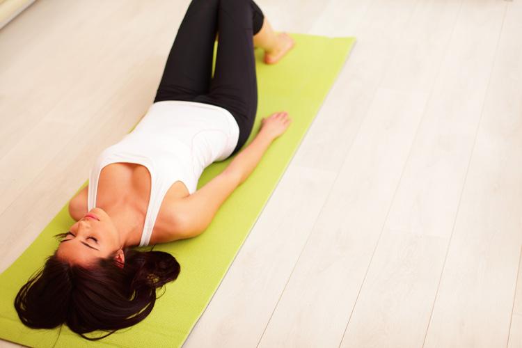 yoga atmung entspannung schlaf