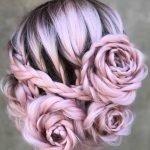 braidedandblonde rose braid