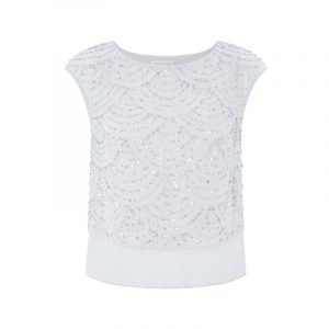 Bridal Top in Blau