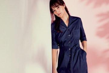 trend blusenkleider
