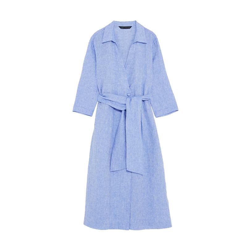 Zara kleid blau