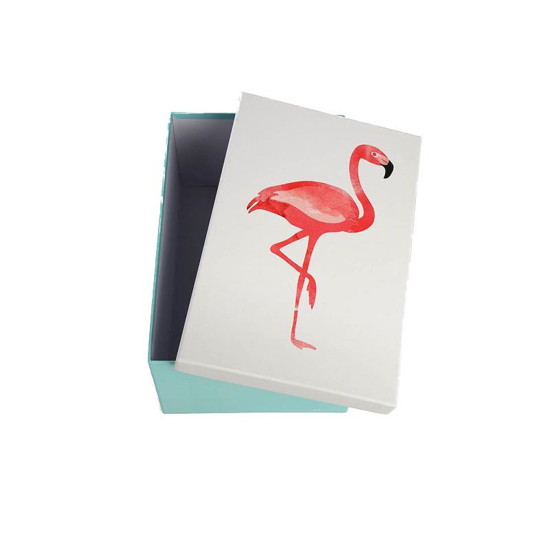 aufbewahrungsbox schachtel flamingo