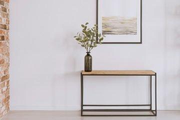 deko metall und minimalismus