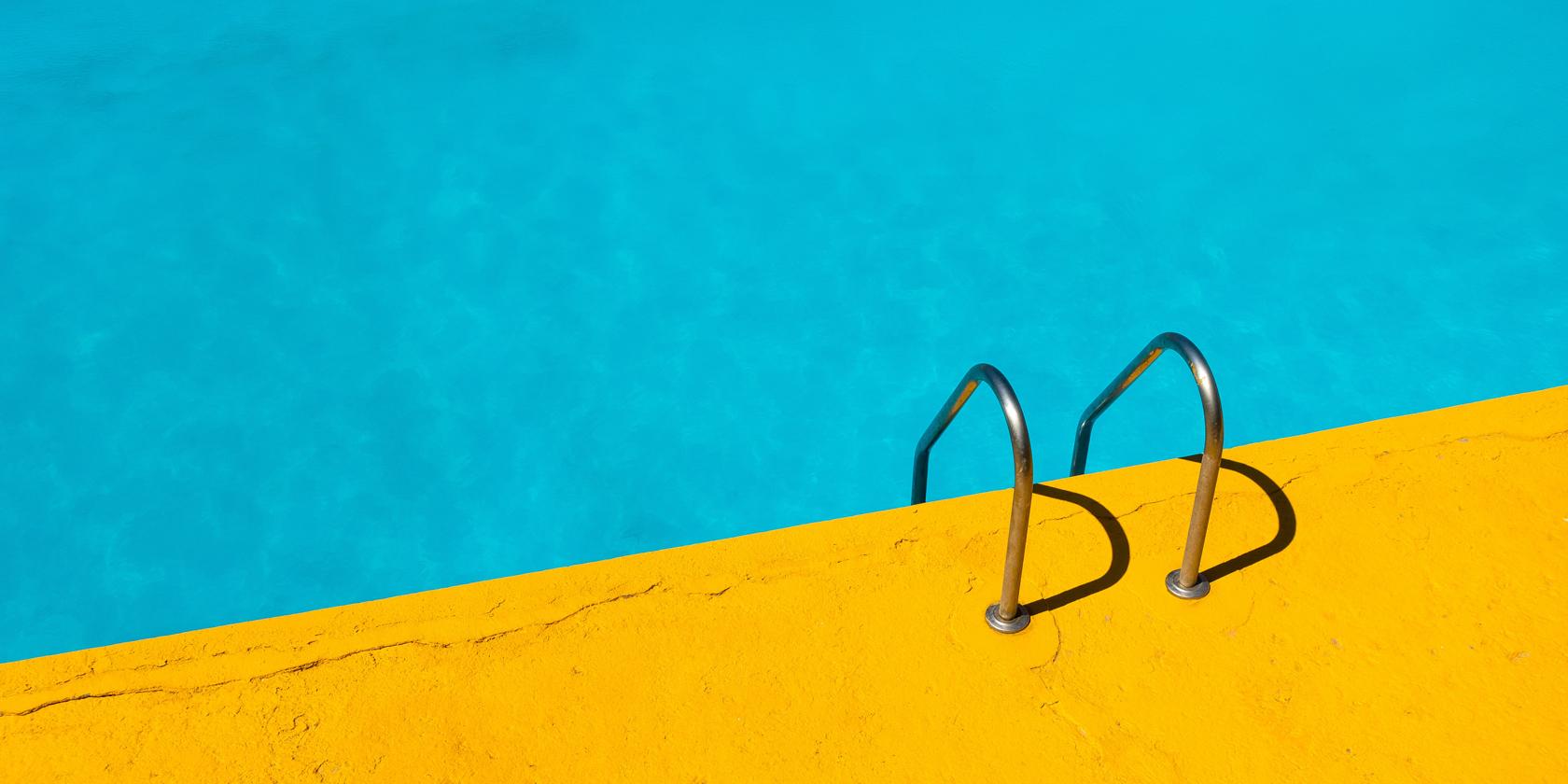 einstieg pool