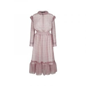 Kleid in Retro-Optik