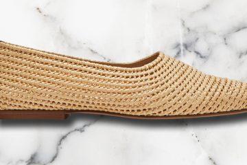 Geflochtene Schuhe