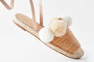 Espadrilles und Schuhe mit Bastsohle