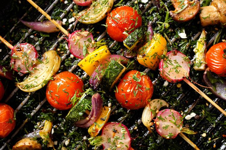 food trend vegetarisch grillen