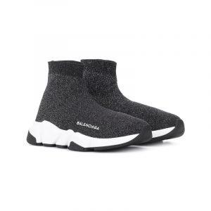 Schwarze High-Top Sneaker von Balenciaga