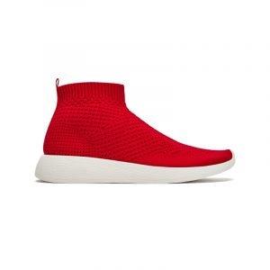 Rote High Top Sneaker von ZARA