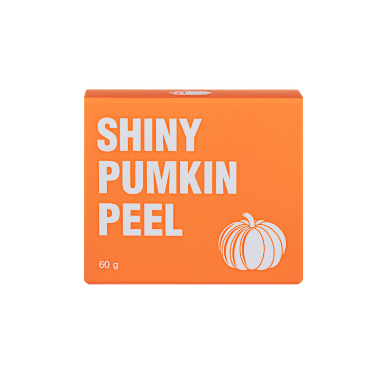 kuerbis peeling shiny pumpkin