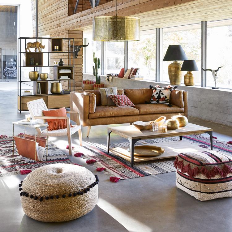 Maisonsdumonde Ethno Style Wohnzimmer