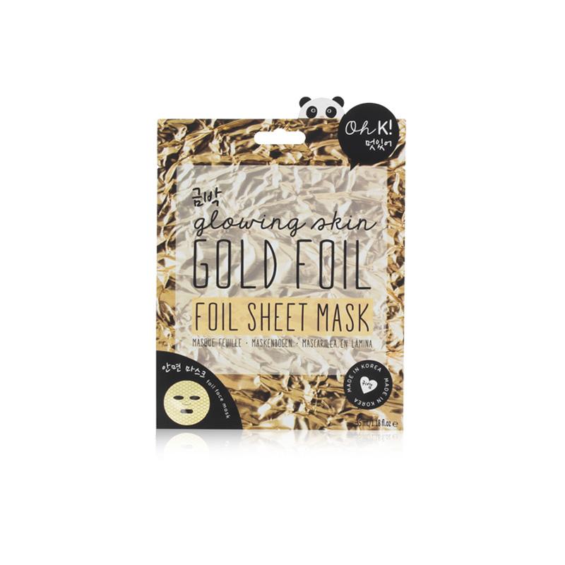 ohk gold foil maske