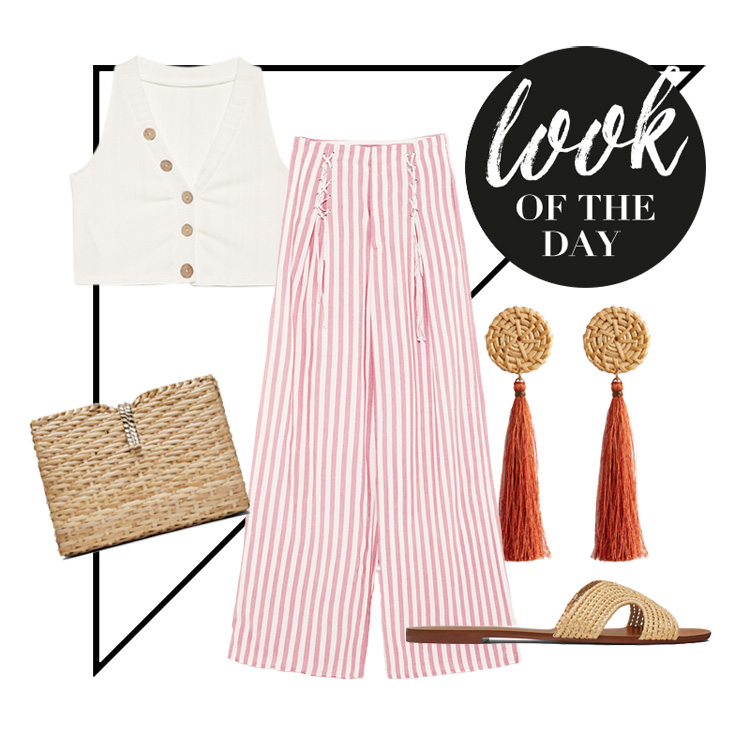 palazzo pants look sommer
