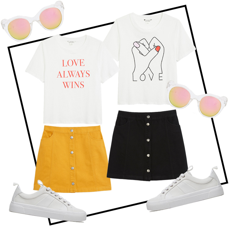 twinning outfit tshirt rock
