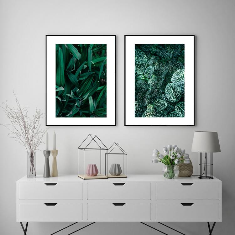 abstracthouse greenery botanical wallart
