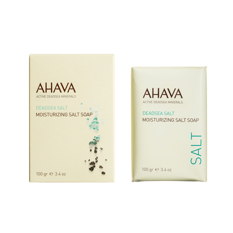 ahava dead sea salt soap