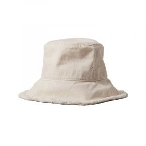 Bucket Hat in Wollweiß