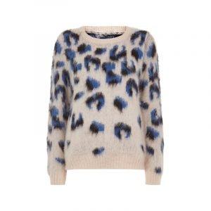 Pullover mit Leo Print