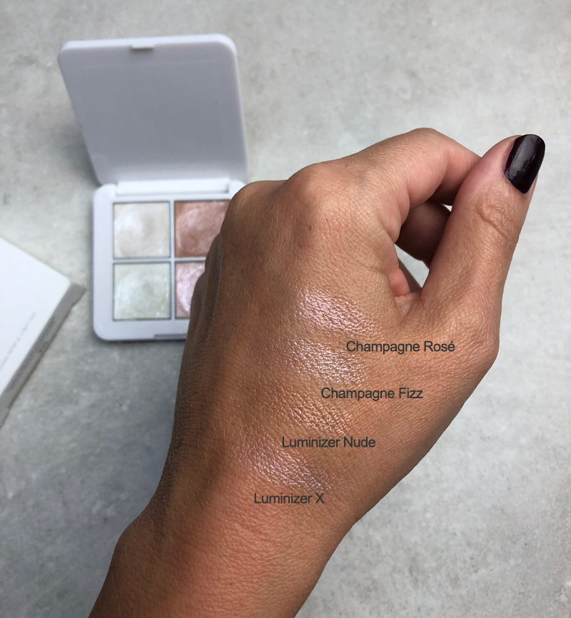 RMS Beauty Highlighter Swatches