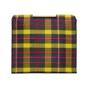 Tasche mit Tartan Muster