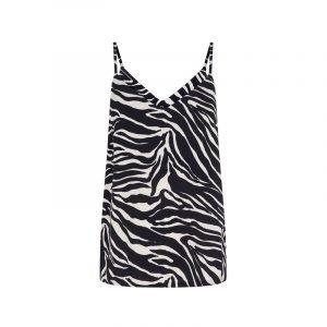 Top im Zebra-Look