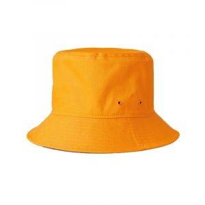 Bucket Hat in Orange