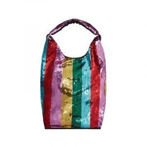 Rainbow Bag mit Pailletten