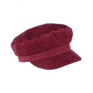Rote Bakerboy Mütze