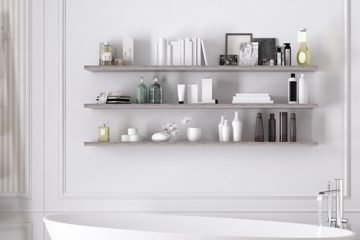 beauty shelf