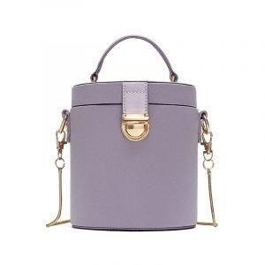 Box Bag in Flieder