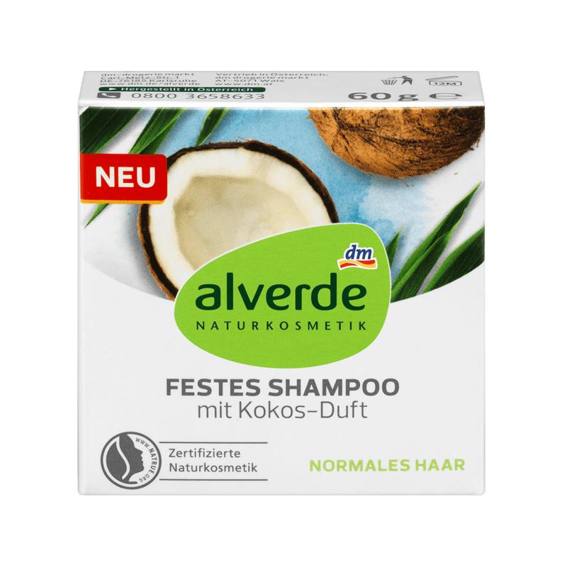 festes shampoo alverde