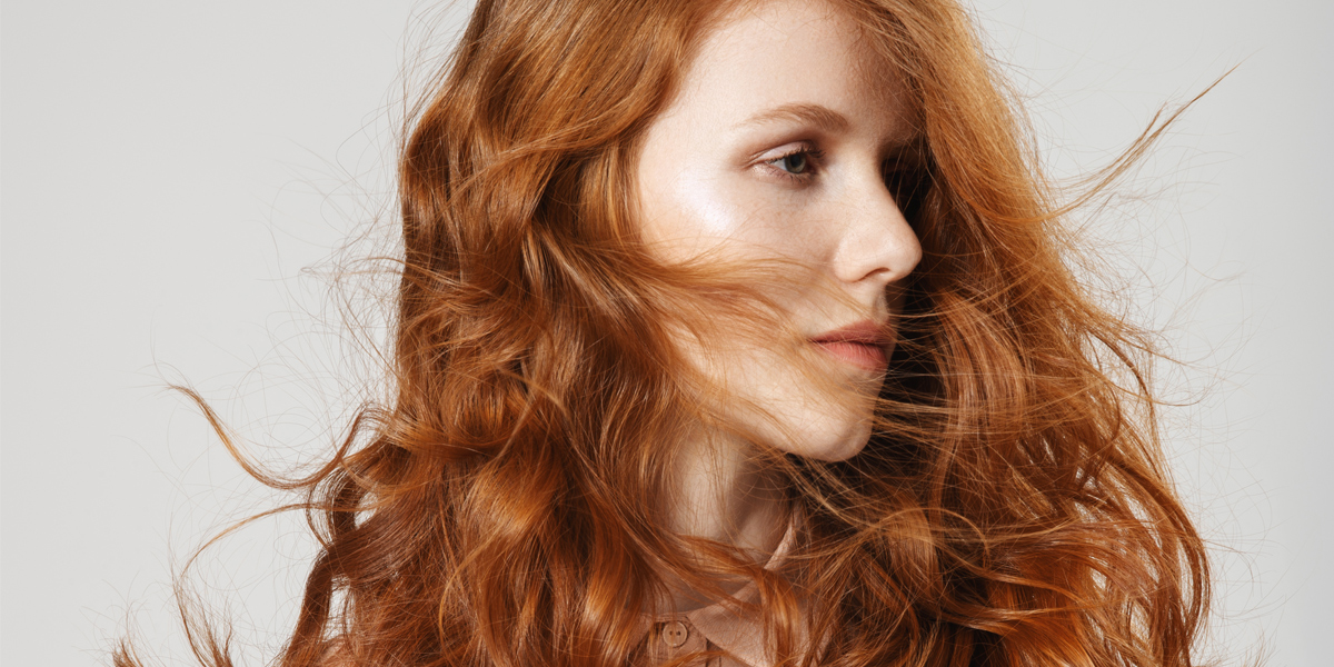 Haarfarbe neon rot