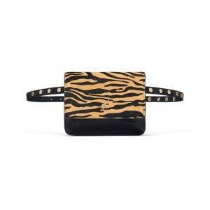 Hip Bag mit Zebra-Muster