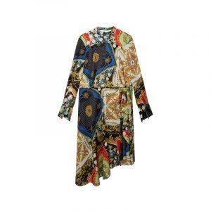 Kleid im Versace Stil