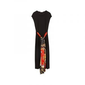 Kleid mit Versace Print