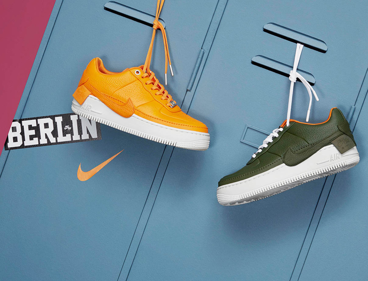 B&&B: Der neue Nike Air Force 1 Jester